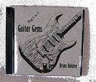 Brian's album - all the old guitar favourites.